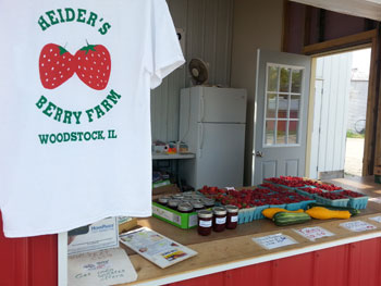 t shirts and farm products